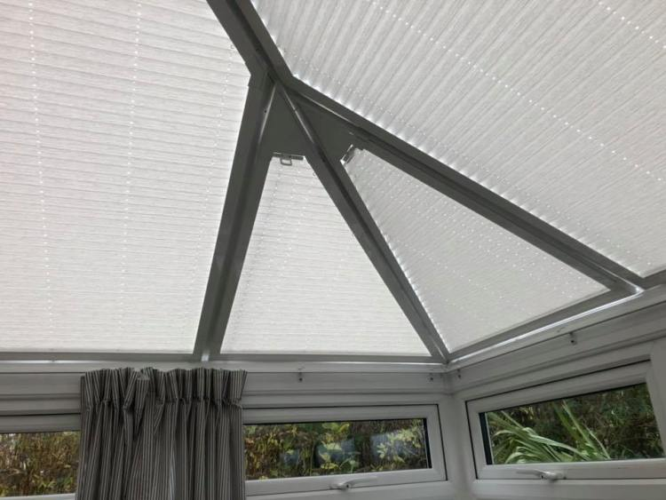 Perfect fit roof blinds fitted