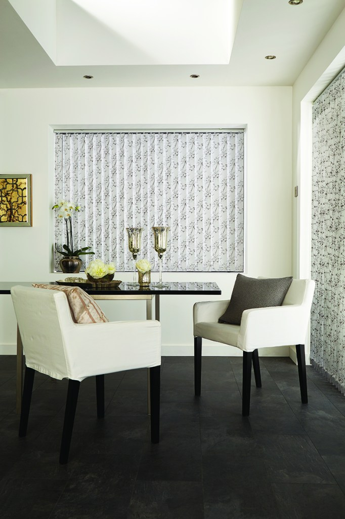 Collina daimond dust vertical blind