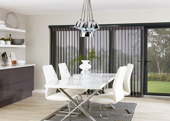 Dark Allusion blinds installed