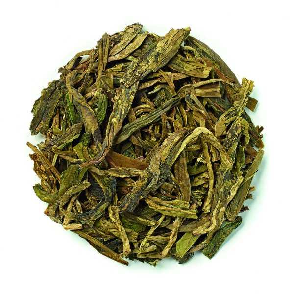 Novus dragon well green tea