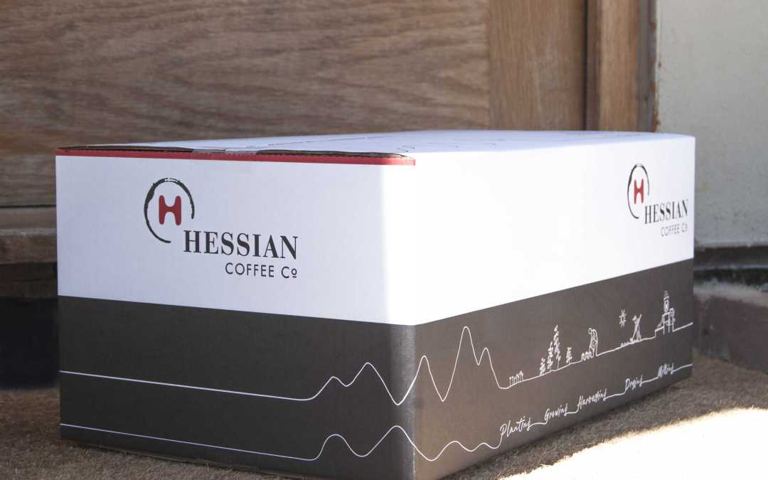 Hessian coffee, Excited about a box!, Hessian Coffee