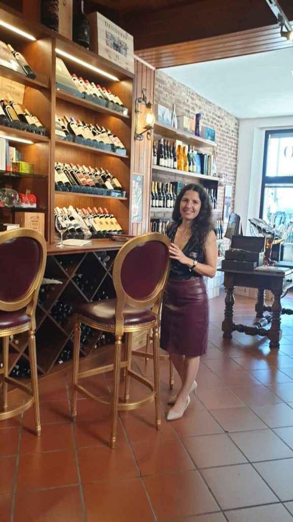 Isabel Gil Degustation in Montepulciano