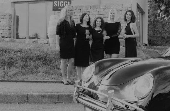 Weinproben fuer Frauen bei Bed & Wine in Hessigheim Weingut Siggi