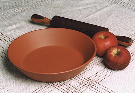 Two 9½u201d Deep-Dish Pie Plates & Two 9½u201d Deep-Dish Pie Plates u2013 Hess Pottery