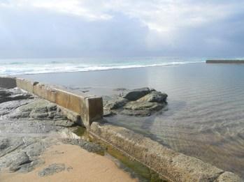 Ifafa tidal pool at high tide