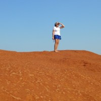 WPC Wanderlust: Barefoot across the desert