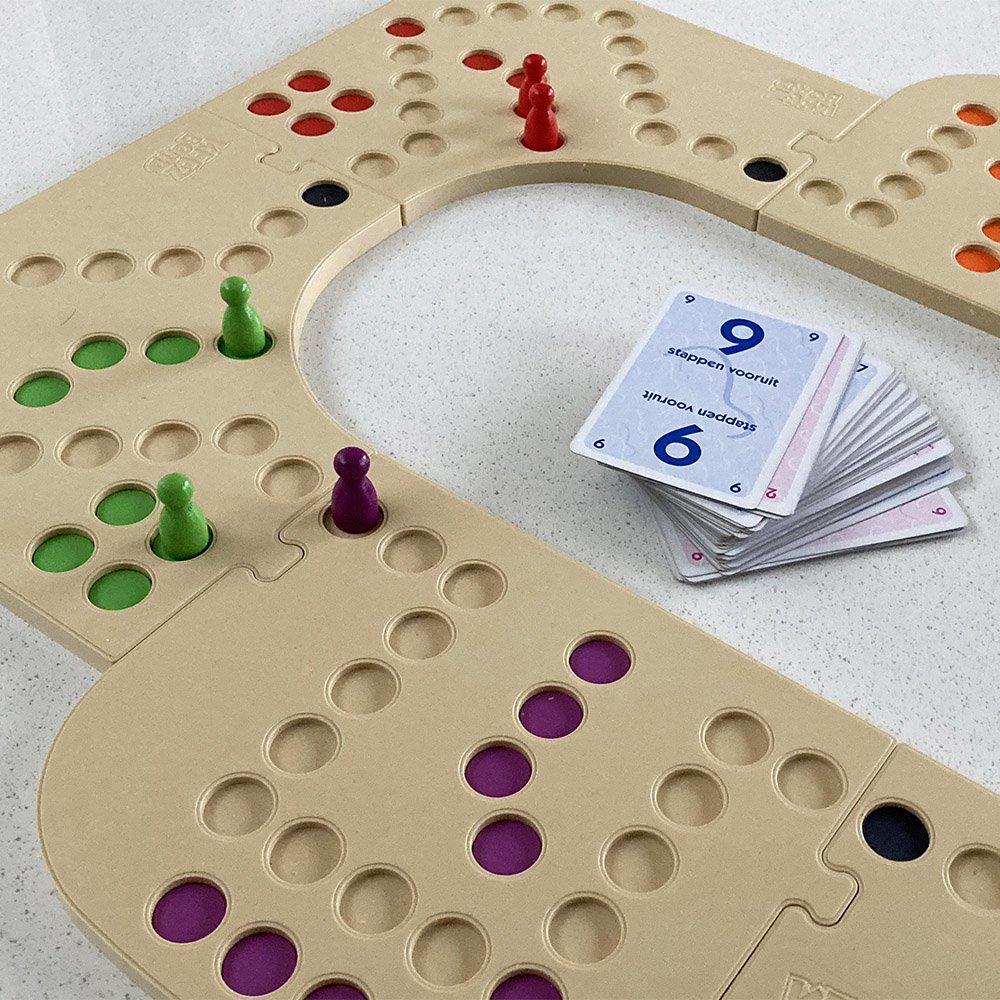Het gezinsleven - Keezbord keezen2