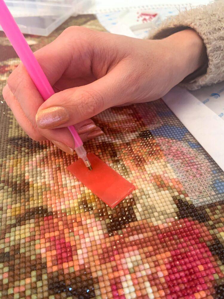 Het Gezinsleven - Lifestyle - Hobby's - Diamond Painting - wax en diamond tool