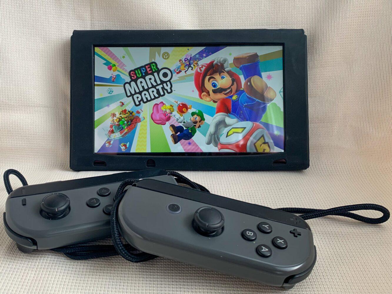 Het Gezinsleven - Gezinsactiviteiten - Speelgoed - De Nintendo Switch - Mario Party