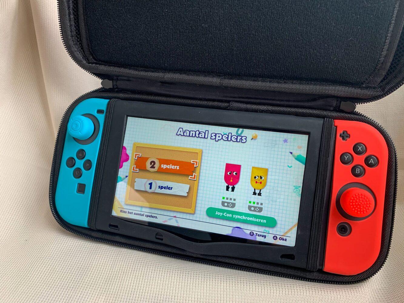 Het Gezinsleven - Gezinsactiviteiten - Speelgoed - Bescherm case voor de Nintendo Switch