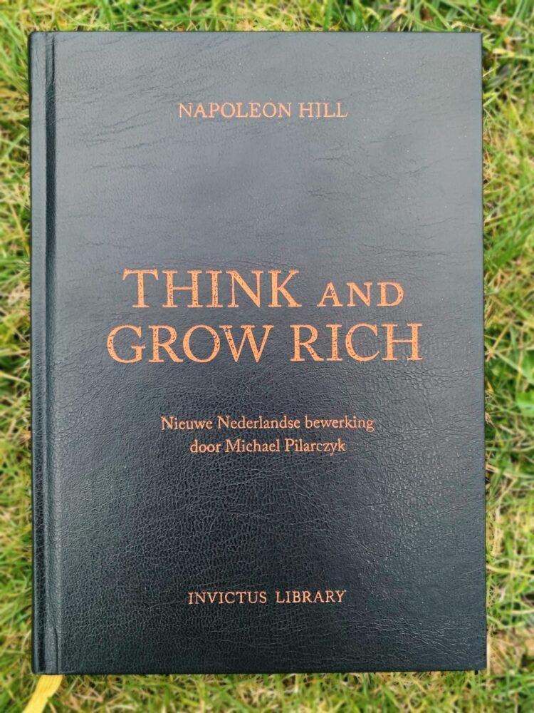Het Gezinsleven - Lifestyle - Hobby's - Persoonlijke ontwikkeling, boeken top 5 - Voorkant boek Think and Grow rich