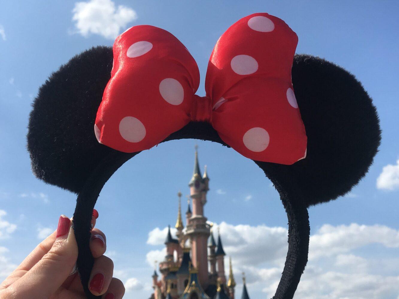 Het Gezinsleven - Uitstapjes - Pretparken - Disneyland Parijs - Mickey Mouse oortjes