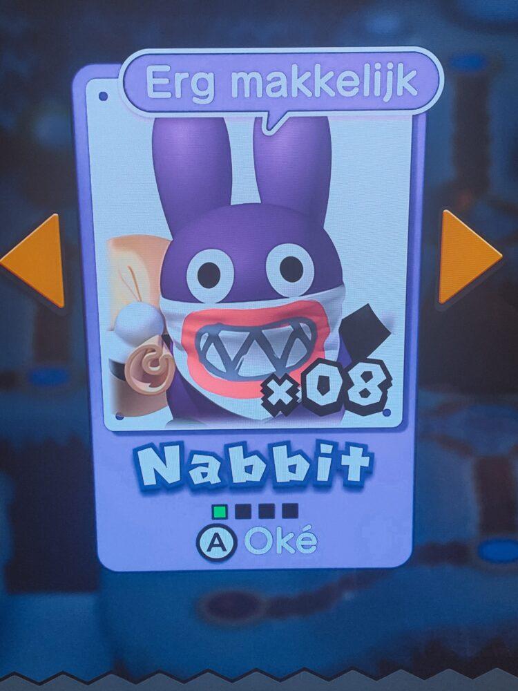 Het Gezinsleven - Gezinsactiviteiten - Media en Techniek - New Super Mario Bros. U Deluxe - Nabbit