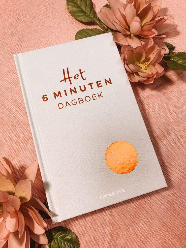 Het Gezinsleven - Lifestyle - Hobby's - Boeken - Review van het 6 minuten dagboek - De voorkant