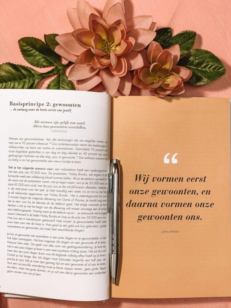 Het Gezinsleven - Lifestyle - Hobby's - Boeken - Review van het 6 minuten dagboek - Een quote