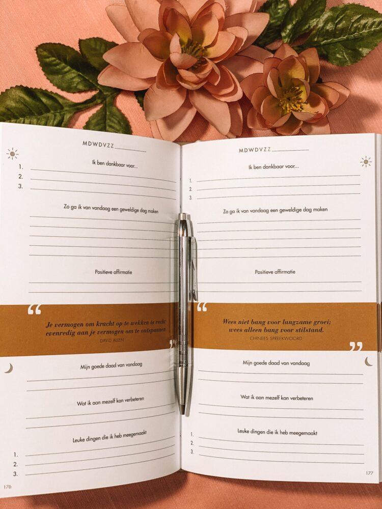 Het Gezinsleven - Lifestyle - Hobby's - Boeken - Review van het 6 minuten dagboek - Dagelijks invullen