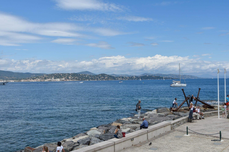 Het Gezinsleven - Vakantie - Autovakantie - Vakantie in de Côte d'Azur, beter wordt het niet! - Saint-Tropez - Uitzicht