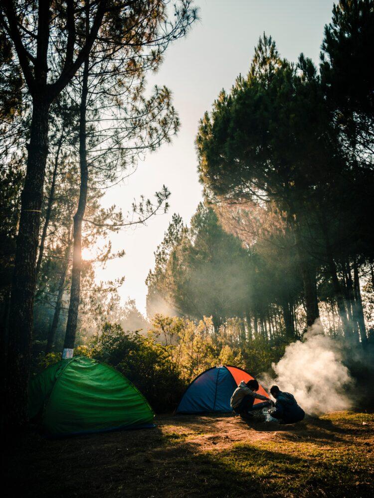 Het Gezinsleven - Vakantie - Autovakantie - Ik ga kamperen met een tent en ik neem mee? - Kamperen in de bossen