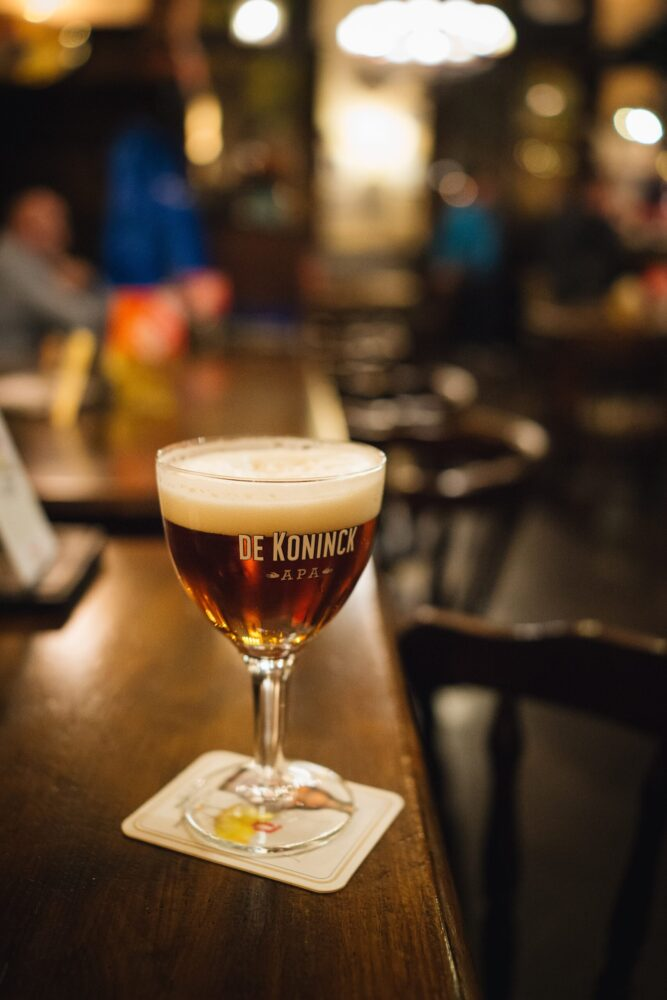 Het Gezinsleven - Vakantie - Stedentrips - Top 10 bezienswaardigheden in Antwerpen - De Koninck bier