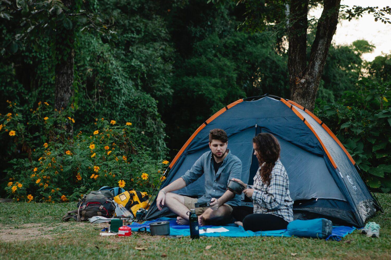 Het Gezinsleven - Vakantie - Autovakantie - Tent, vouwwagen of caravan? Kamperen kun je leren deel 1! - Koken voor de tent