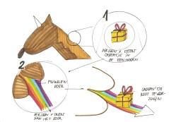 Tekening3: Cadeau's uitwisslen