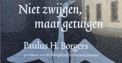 Gedenkplaquette ds. Paulus Borgers