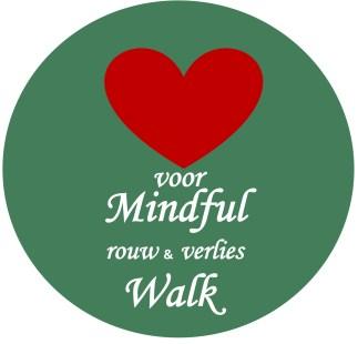Logo Hart voor MF rouw en verlies Walk icoon insta, eindversie