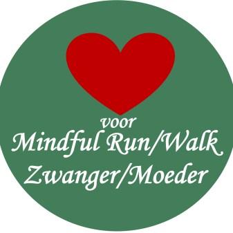 logo zwanger mindful run en walk