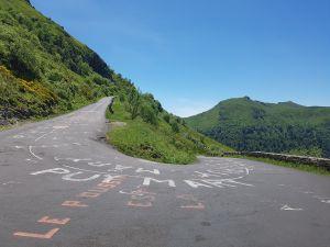 Begin van de klim naar Puy Mary