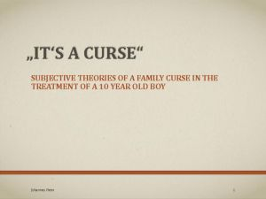 thumbnail of 10 Johannes Heim Family Curse