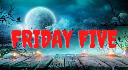 Friday Five: Boeken waar je nachtmerries van krijgt.