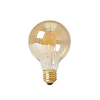 Calex LED 80mm 4W 230V E27 2100K Gold 425452