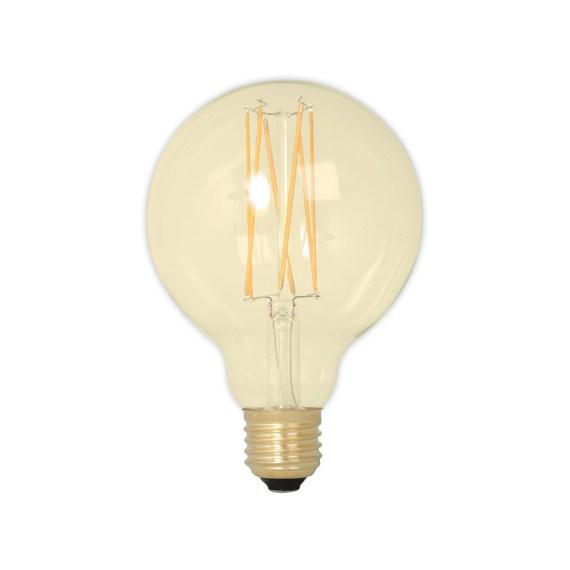 Calex LED 95mm 4W 230V E27 2100K Gold 425464