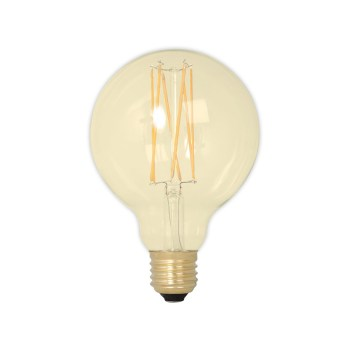 Calex LED 95mm 4W 230V E27 2100K Gold 425464