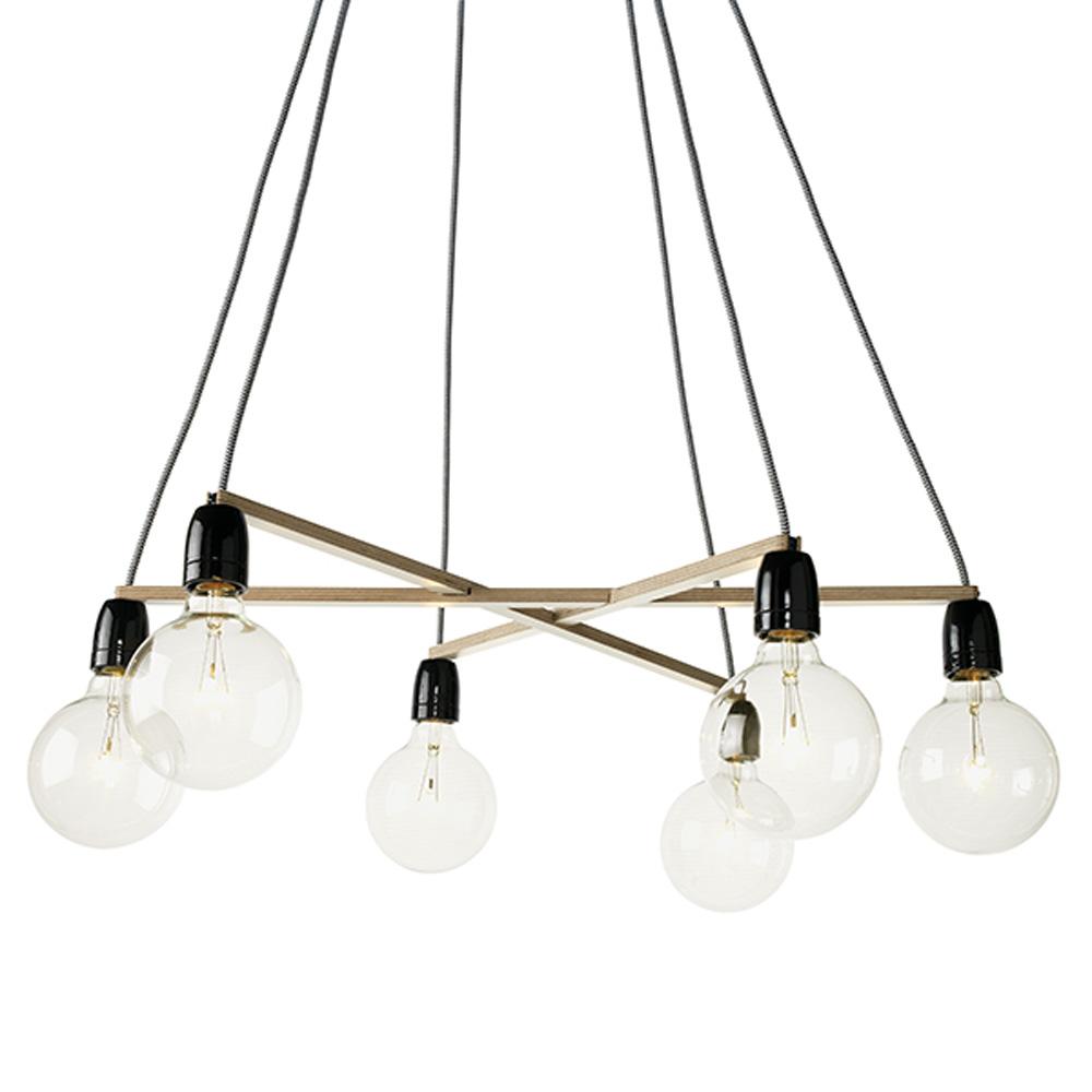 Fabulous Het Lichtlab | No.37 Hanglamp A-symmetrie zwart by Olaf Weller AK87