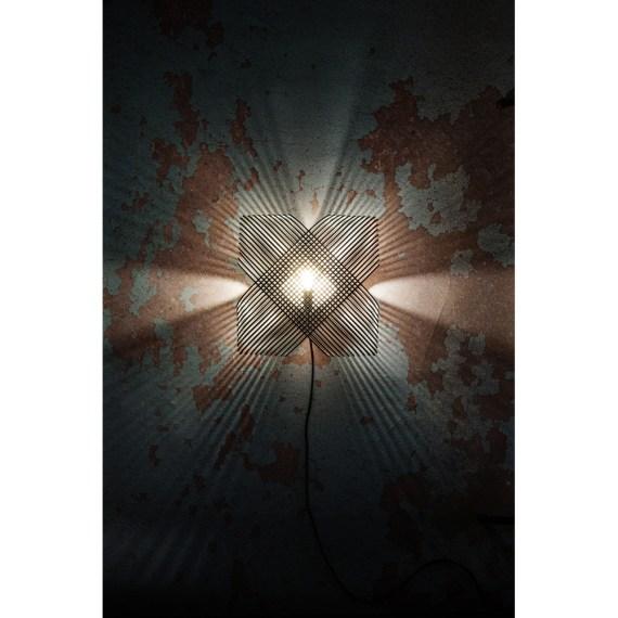 No.39 wandlamp Ovals by a-LEX