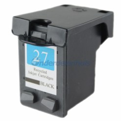 Inksave HP Inkt 27BK Inktcartridge