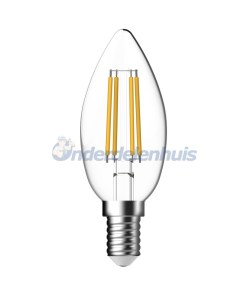 LED Dimbaar Kaars Helder Ledlamp Energetic Lamp
