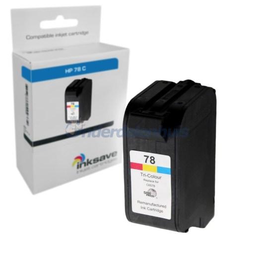 Inkt HP 78 Kleur Inksave Inktpatroon Inkt cartridge