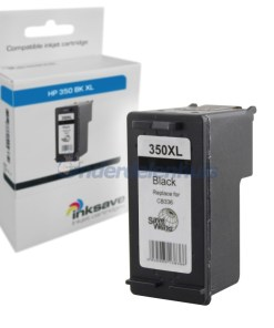 HP 350 Zwart Inkt Inktpatroon Inksave Inkt cartridge