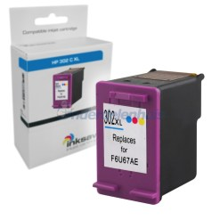 Inksave HP 302 Kleur Inktpatroon Inkt Inkt cartridge
