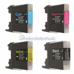 Inkt Brother Multipack LC1240 LC1280 Inkt cartridge inktpatroon