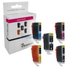 Inksave Canon PGI5 CLI8 Multipack Inkt