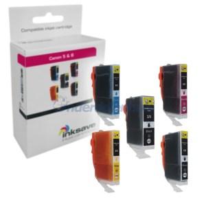 Inksave Canon PGI5 CLI8 Multipack Inkt