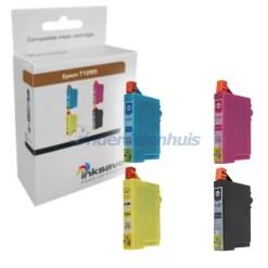 Inksave Epson Multipack Inkt Inktpatroon T1285