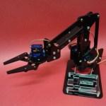 MeArm V0.1 Guía de Ensamble brazo robotico servomotor sg90