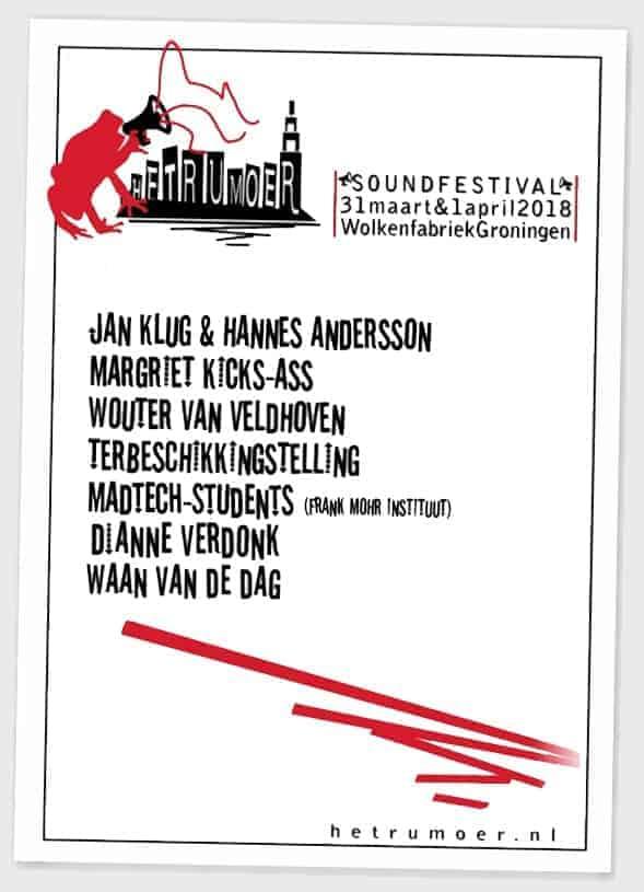 Poster Rumoer soundfestival
