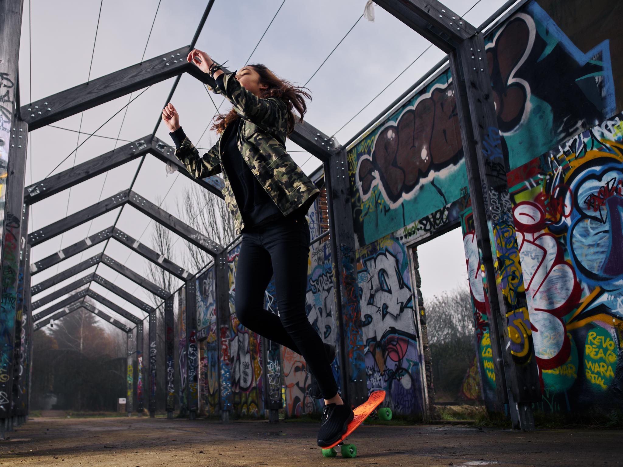 Street Fashion Skateboard