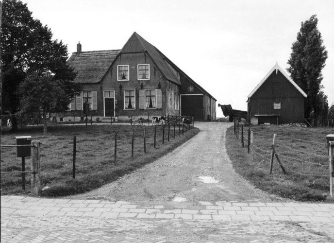 Boerderij Verhoeff in 1980