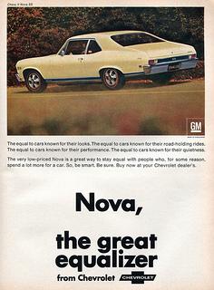 Chevrolet Nova qui ne va pas